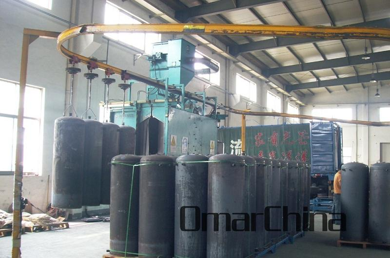Shot Blasting Machine for LGP Cylinder