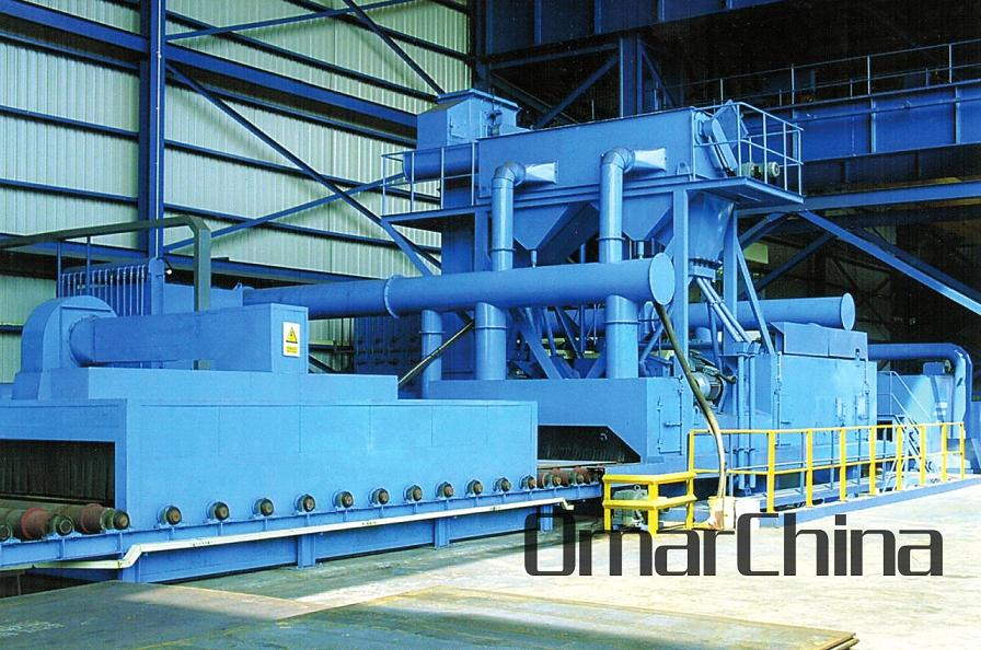 Steel Plate Shot Blasting Equipment