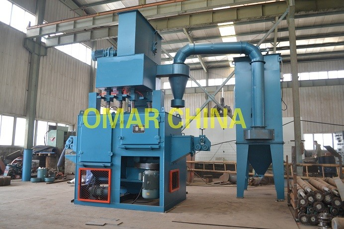 Rebar And Wire Rod Shot Blast Machine
