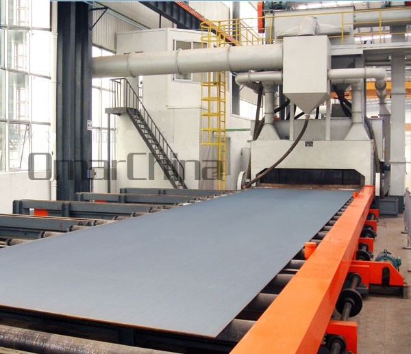 Steel Plate Pretreatment..