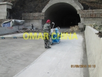 concrete floor shot blast machine